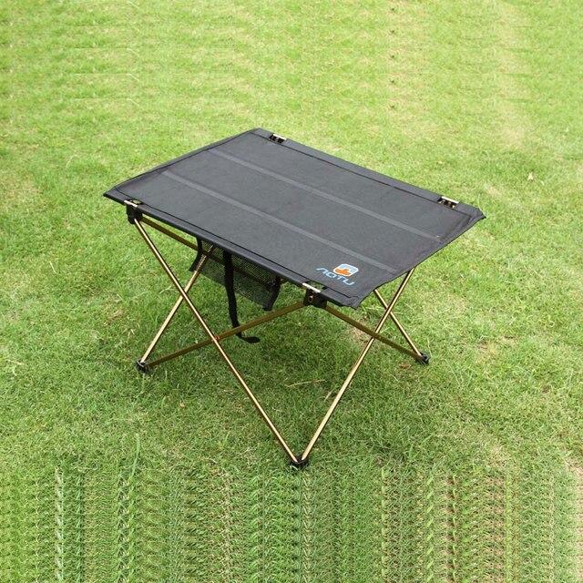 RU открытый складной стол Кемпинг 7075 Алюминиевый сплав походный стол водостойкий Ультра-легкий прочный складной стол для пикника