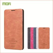 MOFi For Huawei Honor 9 Phone Cover Case Flip PU Leather Stand Soft Back Book Style Cases