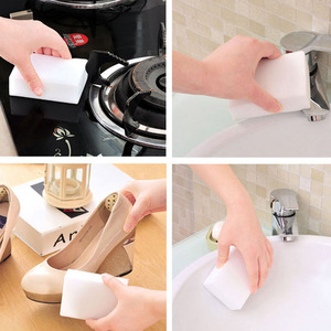 Image 5 - Melamine Magic Sponge Thick tech Strong Decontamination Cleaning keyboard cleaner  kitchen accessorie washing Sponges