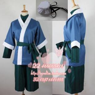 2016 font b Naruto b font font b Cosplay b font Haku Kimono Anime Party Costume