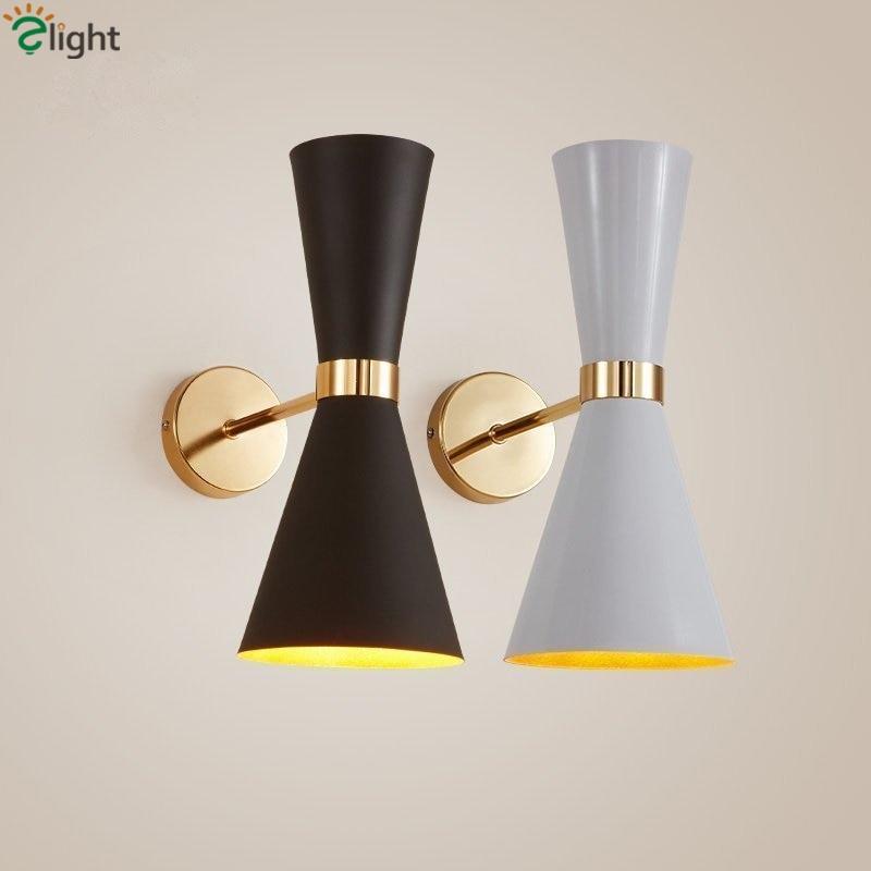 Modern Simple Speaker Led Wall Lamp Plate&Paint Aluminium Bedsides Wall Lamp Bedroom Led Wall Light on wall speaker