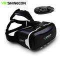 "Shinecon vr ii 2.0 capacete de realidade virtual óculos de vídeo do telefone móvel 3d jogos filme para 4.7-6.0 ""telefone + Controle Remoto"