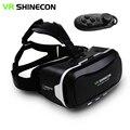 """Shinecon vr ii 2.0 casco gafas de realidad virtual 3d teléfono móvil película de vídeo juegos para 4.7-6.0 """"teléfono + Mando a distancia"""