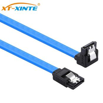 40cm SATA3.0 III SATA3 Cable 6Gb/s SSD Hard Drive Direct / Right Angle HDD Enclosure Date Cable Convertor image