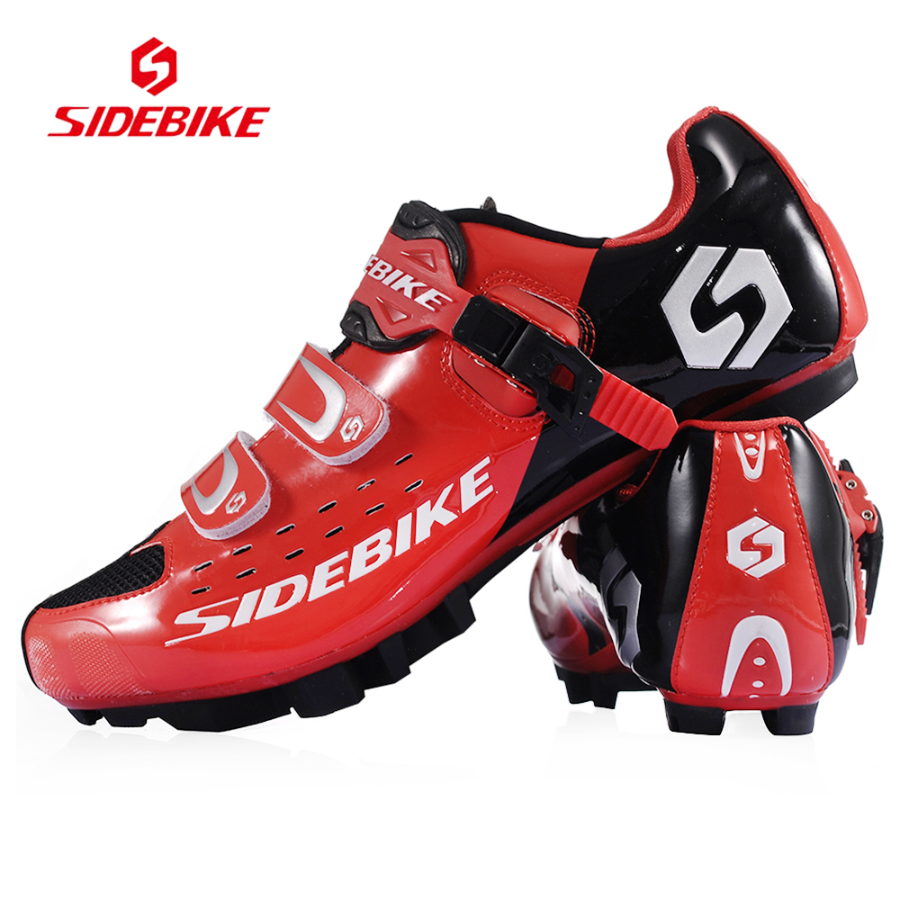 2017 Hot Sale Sidebike MTB Bike font b Shoes b font White Red Cycling font b
