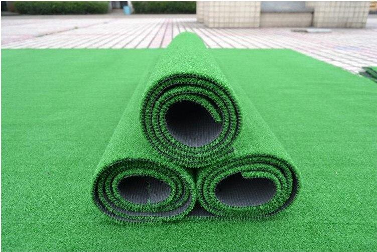 1m 1m Artificial grass lawn Golf practice grass Golf turf mat 1 sq m roll