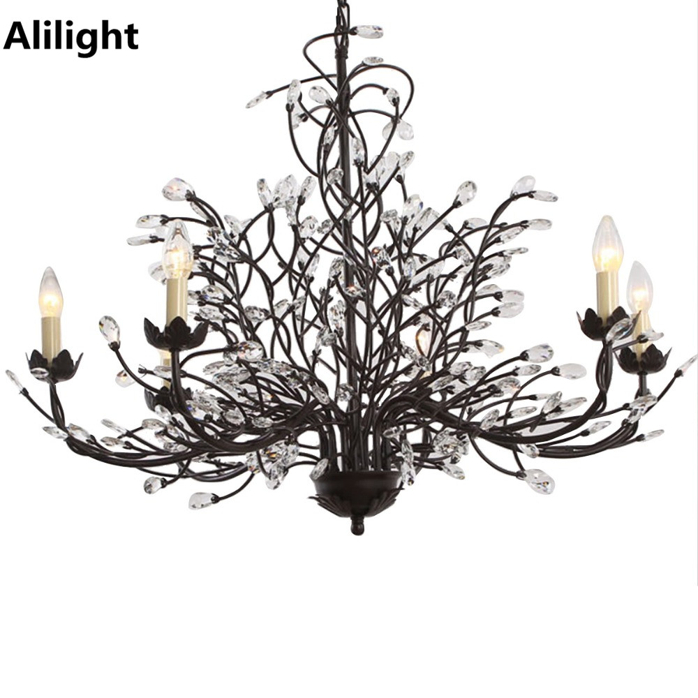 compare prices on bronze crystal chandelier online shopping buy low price bronze crystal. Black Bedroom Furniture Sets. Home Design Ideas