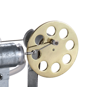 Image 5 - Aibecy Mini sıcak hava Stirling Motor Motor modeli akışı güç fizik deney modeli eğitim bilimi oyuncak hediye çocuklar için