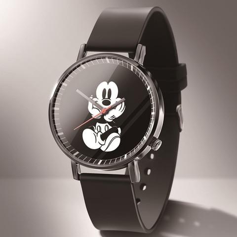 Hot Sale Mickey Mouse 2019 New Fashion Quartz Children Watches Cartoon Student Watch Most Popular Boys Girls Gift Clock Multan