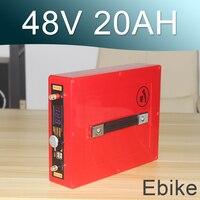 48V 20AH Electric bike Lithium ion Battery 48V E Bike li ion battery With 5V USB waterproof Battery