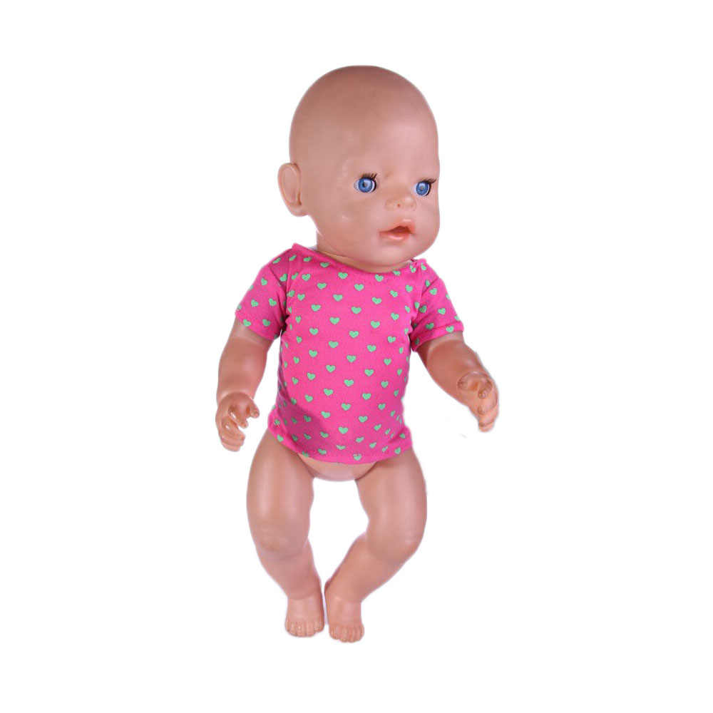 Red Rose เสื้อยืดตุ๊กตาเสื้อผ้า 18 นิ้ว, 43 เซนติเมตร zaps, เด็กที่ดีที่สุดของขวัญ N506