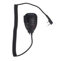 5re uv 5ra uv Baofeng 888S מקורי מכשיר הקשר רמקול מיקרופון נייד כף יד מיקרופון PTT לקבלת Baofeng UV-5R UV-5RE UV-5RA פלוס UV-6R (1)