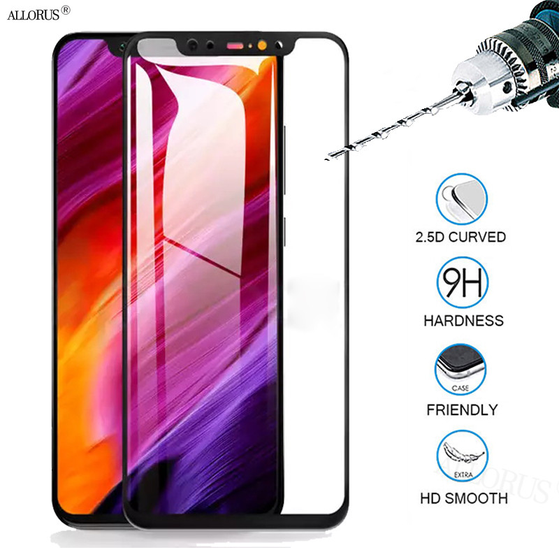 2 5D Tempered Glass for Xiaomi Mi 9T Pro 8 A2 Lite 9 SE Pocophone F1 Glass Screen Protector Redmi Note 5 7 Pro 6A K20 Pro Glass in Phone Screen Protectors from Cellphones Telecommunications