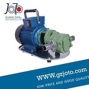 Image 3 - Bomba de aceite pesada térmica de engranaje eléctrico portátil de hierro fundido WCB 100