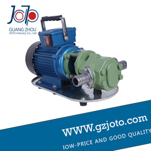 Image 3 - WCB 100 cast iron portable electric gear thermal heavy oil pump
