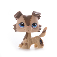 LPS Pet Shop Presents Collie Dog littlest Toys Cat Dolls Mini Action Figure Model High Quality Limited Collection Toys Gift Girl стоимость