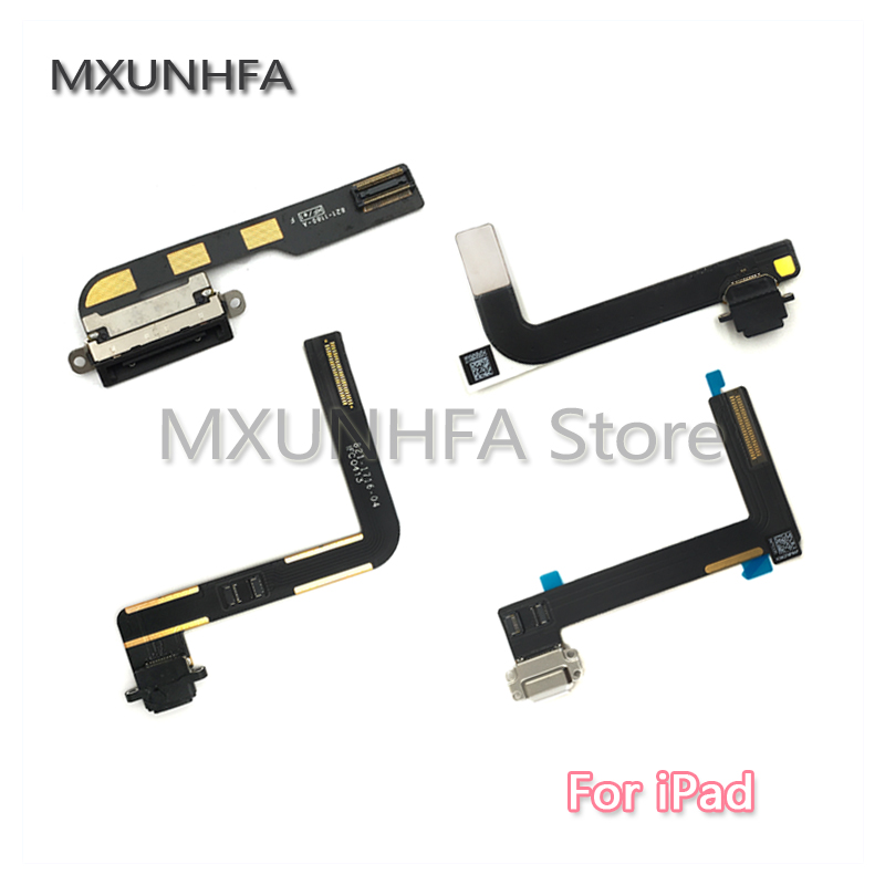 Cable Length Black Computer Cables Ribbon Flex Cable USB Charger Charging Dock Port Connector Data Replacement for Apple iPad 6 Air 2