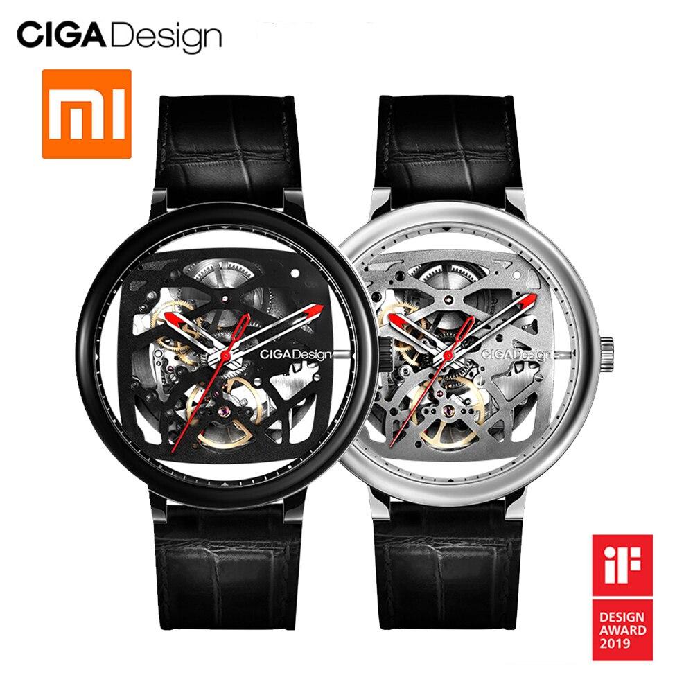Pour Xiaomi CIGA Design montre intelligente automatique pour hommes montre mécanique horloge femmes montres hommes smartwatch reloj inteligente