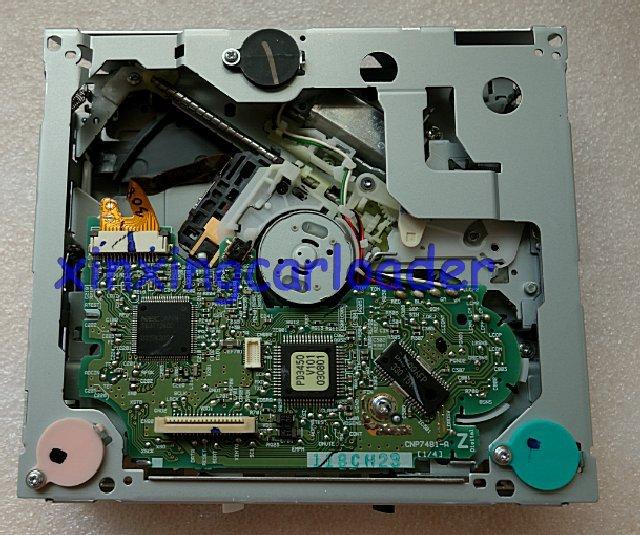 Gratis verzending 100% nieuwe en originele auto Single Disk CD Loader - Auto-elektronica