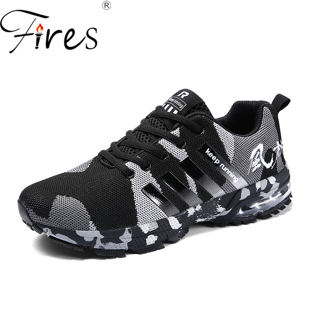 Fires Women Running shoes Men Breathable Sneakers mesh lightweight Outdoor Sports Athletic Cheap unisex lace-up Sneakers Summer lace up breathable mesh athletic shoes