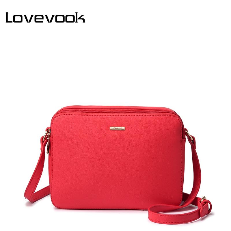 LOVEVOOK women messenger bags female shoulder crossbody bag ladies handbags women purse envelope satchels for girls PU 2018 pink