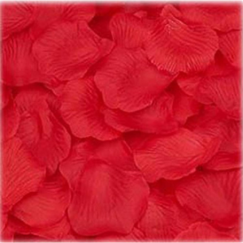1000PC Silk Artificial decorative Flower Rose Petals Wedding Party Decorations Valentine petale de rose flores artificiales