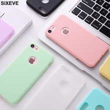 Cute Candy Colors Soft TPU Silicon Phone Case for iPhone X S XR XS Max 5 5S SE 6 6S 7 8 Plus X 8Plus Fashion Case For IPhoneX 10