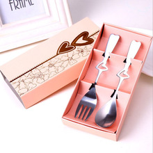 10 sets Love Heart Wedding Favour Gift ideas Spoon & Fork Best Selling Favors Gifts for Guests Party Decorations