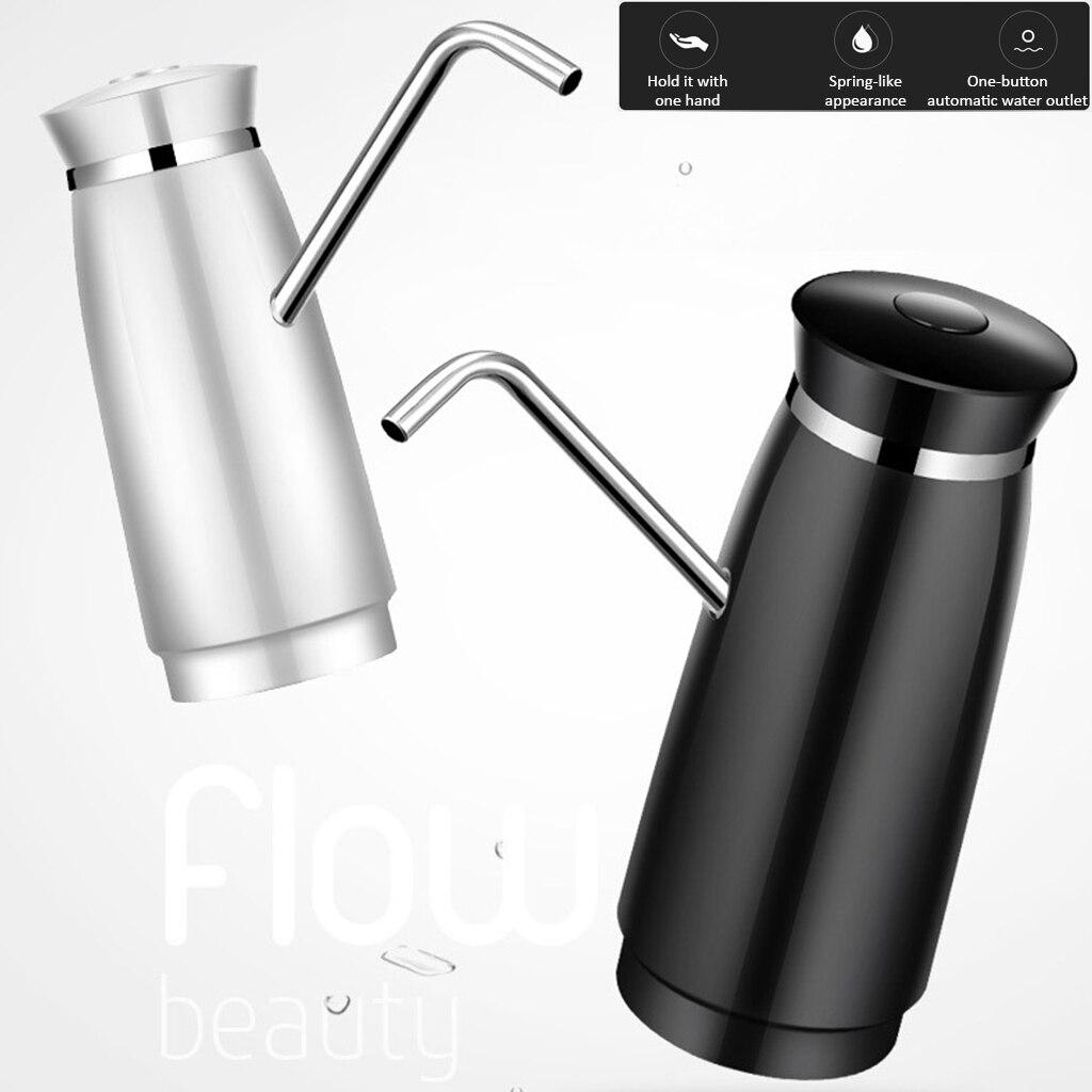 Universal USB Charging Automatic Electric Portable Water Pump Dispenser Gallons Potable Bottle Switch Electronic Bottle Pump