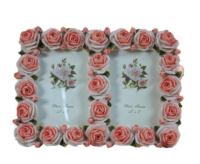 Double Rose Frames Love Vintage Flower Frames Picture Frames Love