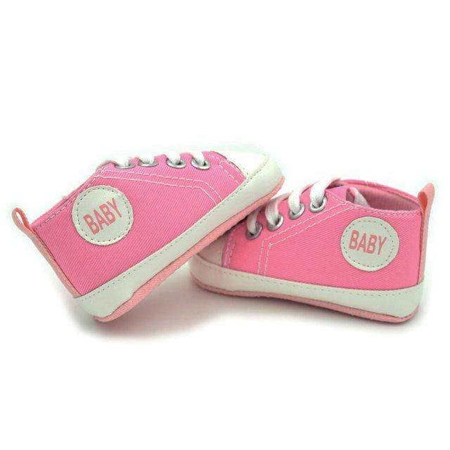 Hot Kids Baby Baby Girl Casual Prewalkers Anti-Slip Soft Crib Cotton Walk Shoes