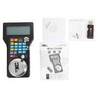 Engraving Machine Remote Control Handwheel Mach3 MPG USB Wireless Hand Wheel For CNC 3 Axis 4