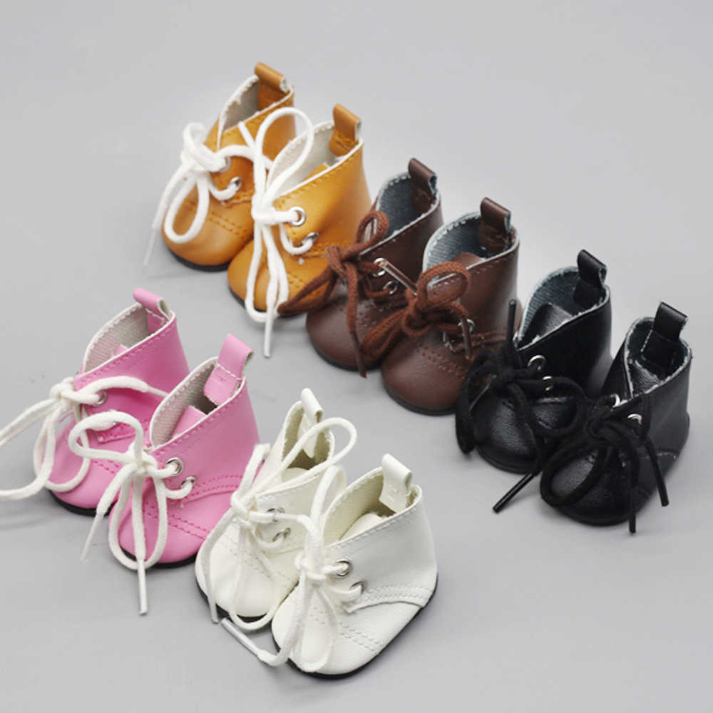 New Arrival 5cm Doll Shoes For 1/4 BJD 14 Inches Baby Doll Fashion Mini Shoes with Socks High Quality Doll Boots Accessories