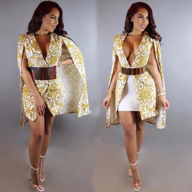 Caliente europea de Moda Americana Chaqueta Split Cardigan Oro de UwqdE4U