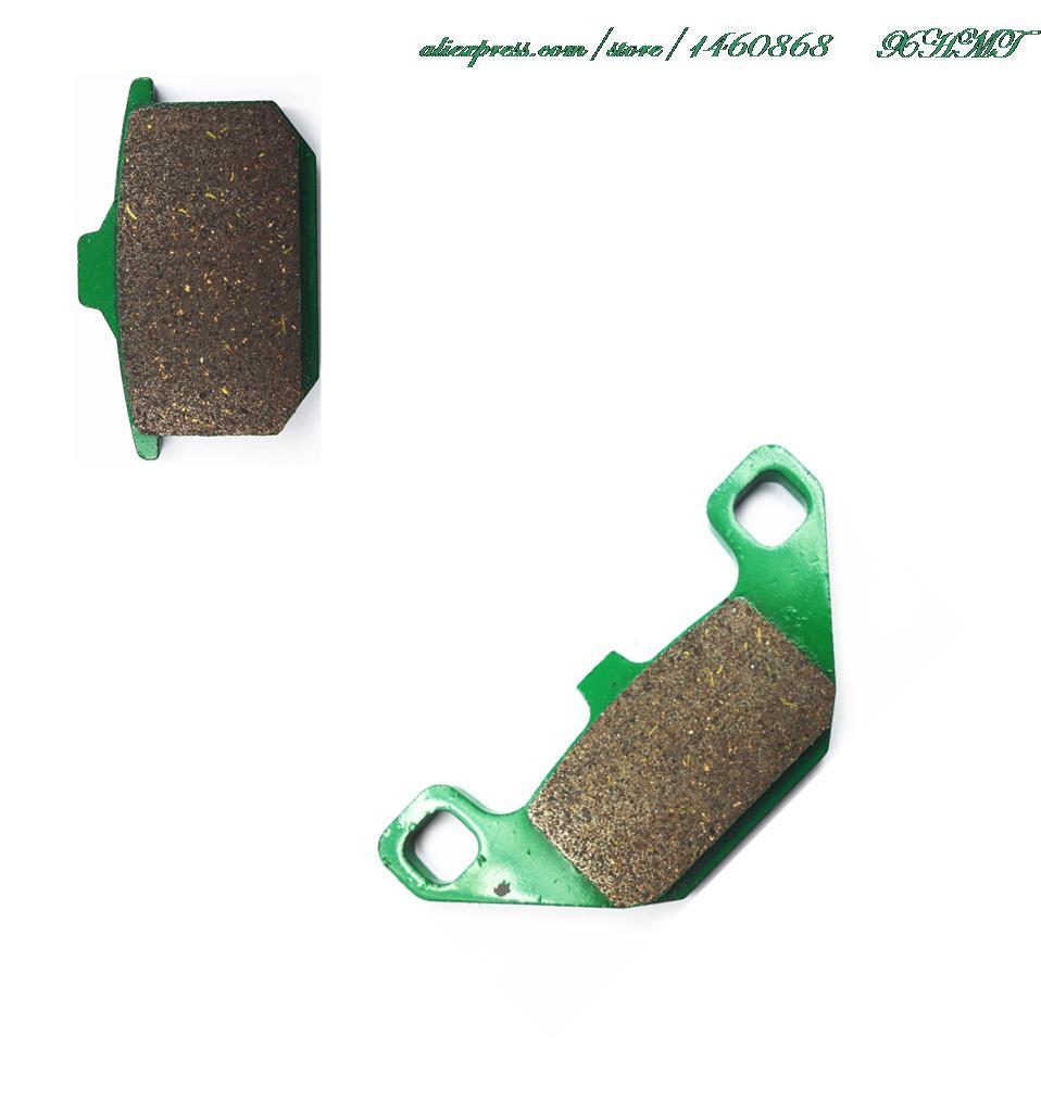 Тормозные колодки комплект для Kawasaki El250 El 250 (91-94) en 500 (90-93) Gpz500 ГПЗ 500 s (87 и выше) kle400 Kle 400 вулкан (90 и выше)