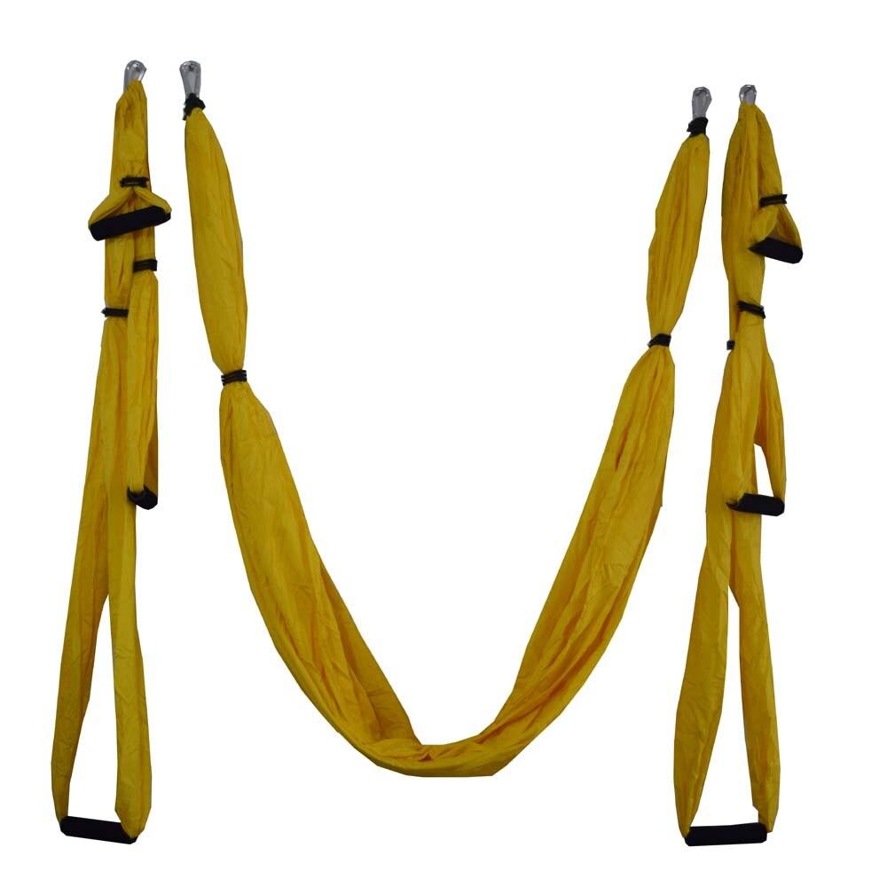 ①  16 цветов Inversion Trapeze Антигравитационная воздушная тяга Yoga Тренажерный зал с ремнем Yoga Swi ✔