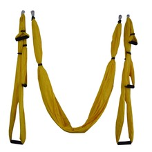 16 colors Inversion Trapeze Anti-Gravity Aerial Traction Yoga Gym strap yoga Swing Set Strength Decompression Yoga Hammock