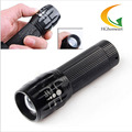 LED Flashlight torch Torch Lanterna Tactical Penlight Zoomable In Out Lights Lamp Q5 600  Zoom Light