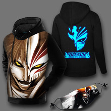 BLEACH Anime Pullovers Men Sweatshirts Man Pullover coat (7 colors)