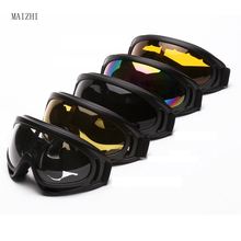 quality 2017 New Outdoor Sport Windproof Glasses Ski Snowboard Goggles Dustproof Motocross Glasses Wholesale motocross glasses