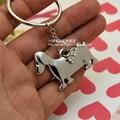Dachshund keychain cute key ring for women dog keychain key holder doggy bone key chain portachiavi chaveiro llaveros hombre