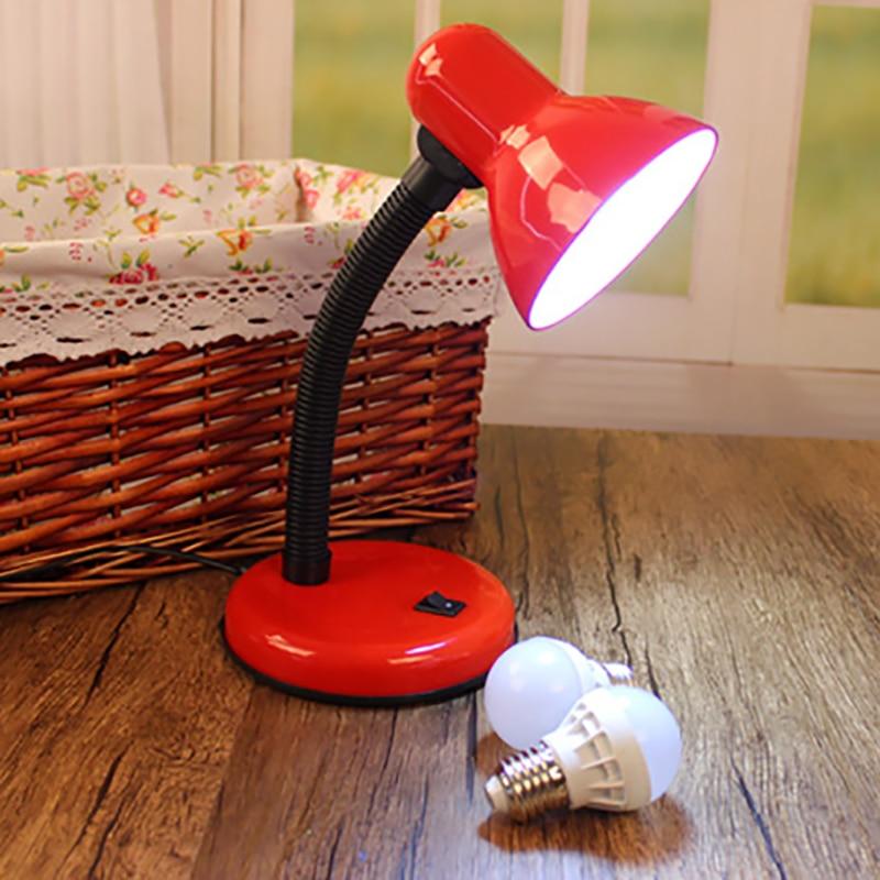 Simple colorful desk lamps…