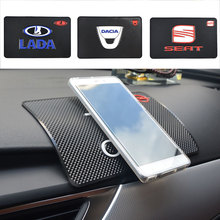 Car styling Interior Accessories for Anti-Slip mat Mobile Phone Pad GPS holder Anti Slip mat Car Sticky Non-Slip Mat car-styling