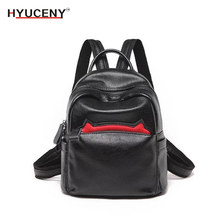 New Fashion Leisure Women Backpacks women Leather Female school shoulder bags for teenager girl Traveling backpack