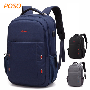 "2019 Newest Brand POSO Backpack Bag For Laptop 17, 17.3"", Case For Macbook 17.3"", Compute 17.3, Free Drop Shipping PS06"