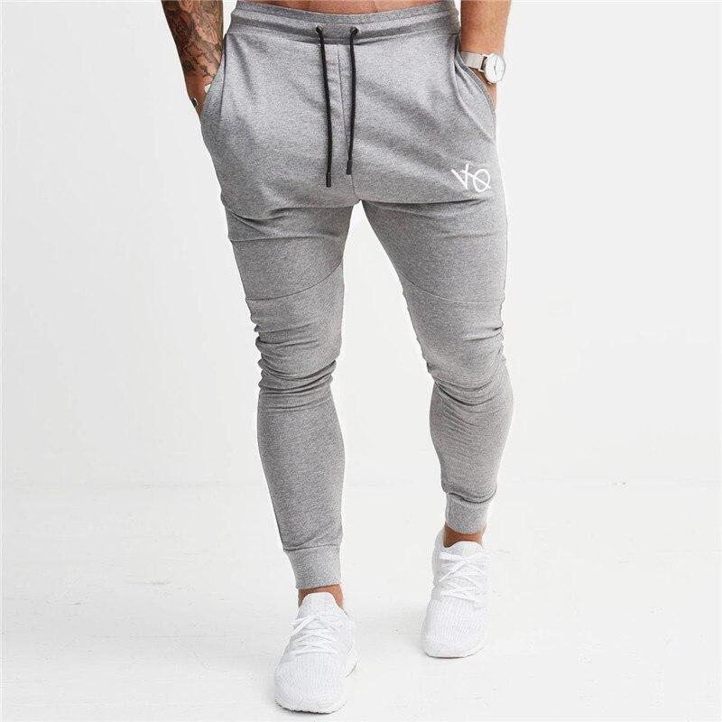 48005d951875e Vanquish 2018 NOUVEAUX GYMNASES Hommes Joggers Pantalon Fitness Casual  Marque De Mode Joggeurs pantalons de Survêtement Bas Snapback Pantalon  hommes ...