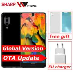 "SHARP AQUOS C10 S2 Смартфон Android 8,0 4 Гб + 64 Гб 5,5 ""FHD + безрамочный экран Snapdragon 630 Восьмиядерный Face ID NFC 12MP 2700 мА/ч, 4G"