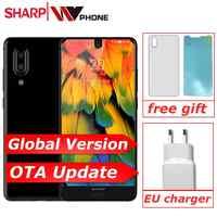 SHARP AQUOS C10 S2 SmartPhone Android 8.0 4GB + 64GB 5.5 ''FHD + Snapdragon 630 octa core face id NFC 12MP 2700mAh 4G