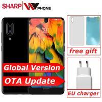 SHARP AQUOS C10 S2 SmartPhone Android 8.0 4GB+64GB 5.5'' FHD+ Snapdragon 630 Octa Core Face ID NFC 12MP 2700mAh 4G