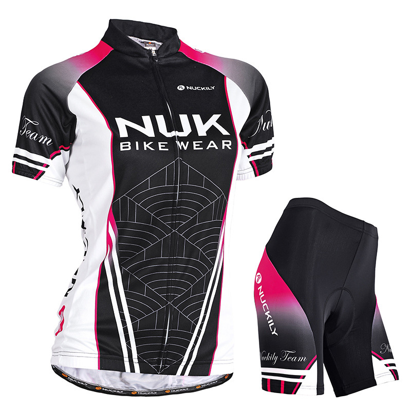 Cycling jersey set female Short sleeve bike clothing Pro team mtb bicycle clothes sport wear uniform suit women dress maillot